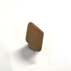 Door Handle Fixing Screw Cap - Tan *Used*