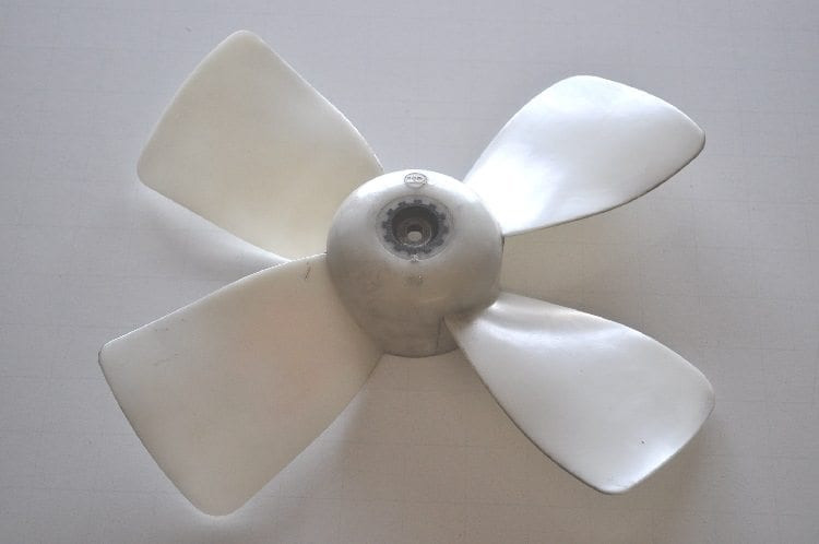 Hvac Fan Blade : Mx air conditioning electric fan blade used