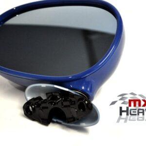 Mazda MX5 MK1 Door Mirror Manual Mariner Blue DU NS LH