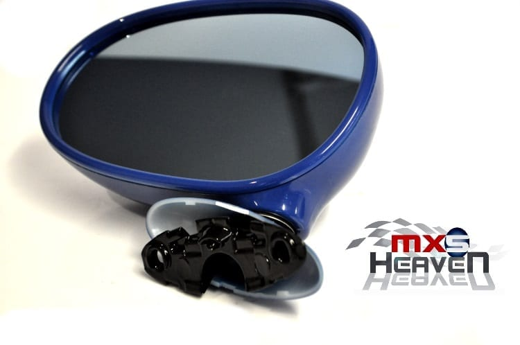 sc 1 st  MX5 Heaven & Mazda MX5 MK1 Door Mirror Manual Mariner Blue DU NS LH