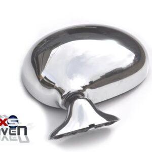 Mazda MX5 MK1 Door Mirror Manual Chrome NS LH
