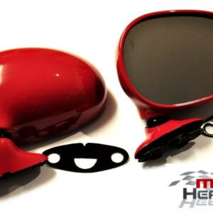 Mazda MX5 MK1 Door Mirrors Manual Classic Red SU Pair