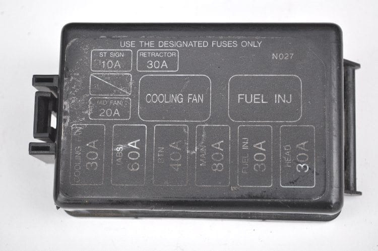 Fuse Box Cover - N027 *Used*