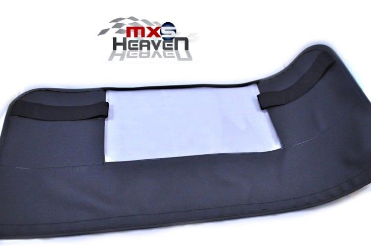 Mazda MX5 MK1 Wind Deflector Vinyl Black Windblocker
