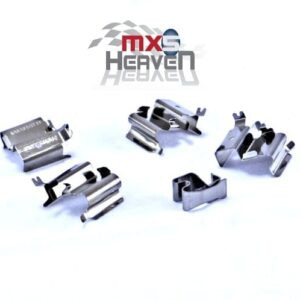 Front Brake Pad Fixing Clips *New*