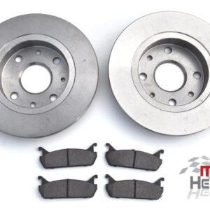 "Brake Discs & Pads - Rear 1.6 ""New"""