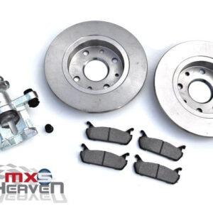 "Brake Discs, Pads & Caliper - Rear 1.6 ""New"""