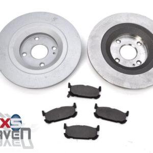 Mazda MX5 MK2 Brake Discs Pads Rear Big Brakes 276mm