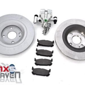 Mazda MX5 MK2 Big Brakes Rear Brake Discs Pads Calipers