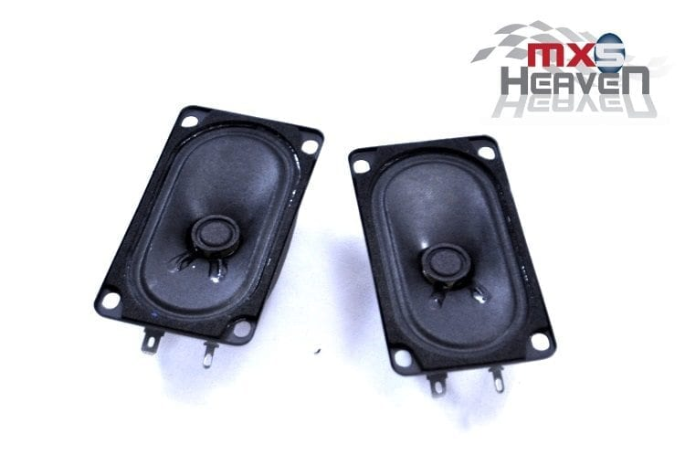 Mazda MX5 MK1 Eunos Headrest Standard Speakers Pair