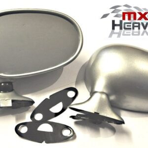 Mazda MX5 MK1 Door Mirrors Manual Silver Stone 3L Pair