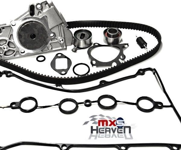 Mazda MX5 MK1 1.6 Timing Belt Kit Water Pump Cam Cover Gasket CAS ORing