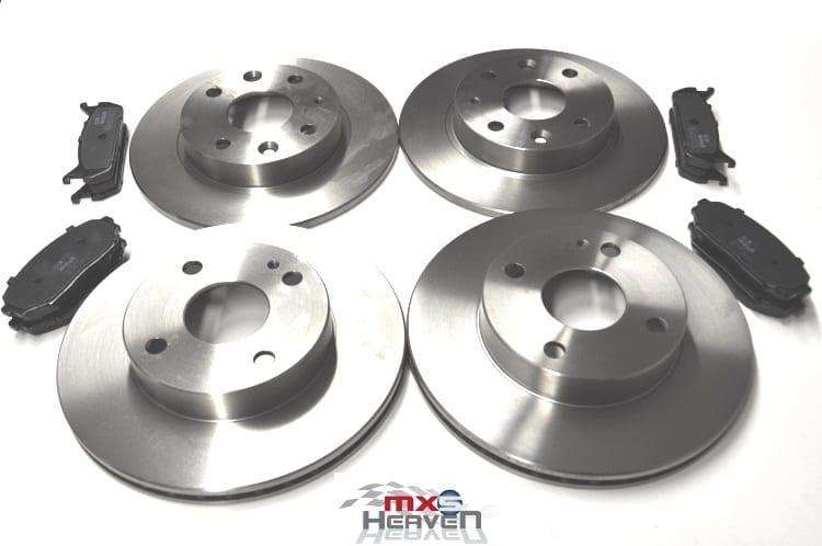 Mazda MX5 MK1 1.6 Brake Discs Pads