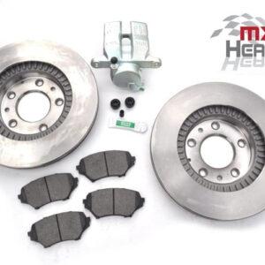 Mazda MX5 MK3 290mm Front Brake Discs Pads Calipers