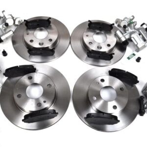 Mazda MX5 MK1 1.6 Brake Discs Pads Calipers Full Car Set