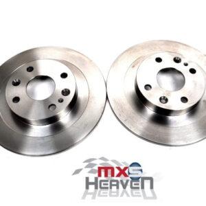 Mazda MX5 MK1 1.8 MK2 Rear Brake Discs Pair Eunos Roadster