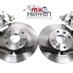 Mazda MX5 MK1 1.8 MK2 Rear Brake Discs Pads Calipers