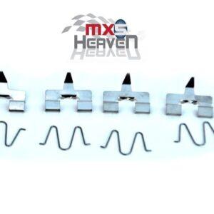 Mazda MX5 MK1 1.8 MK2 Rear Brake Pad Fixing Kits Pair