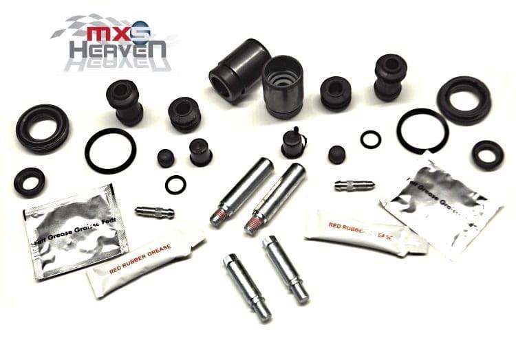 Mazda MX5 MK1 Mk2 Rear Brake Caliper Seals Pistons Slider Pins