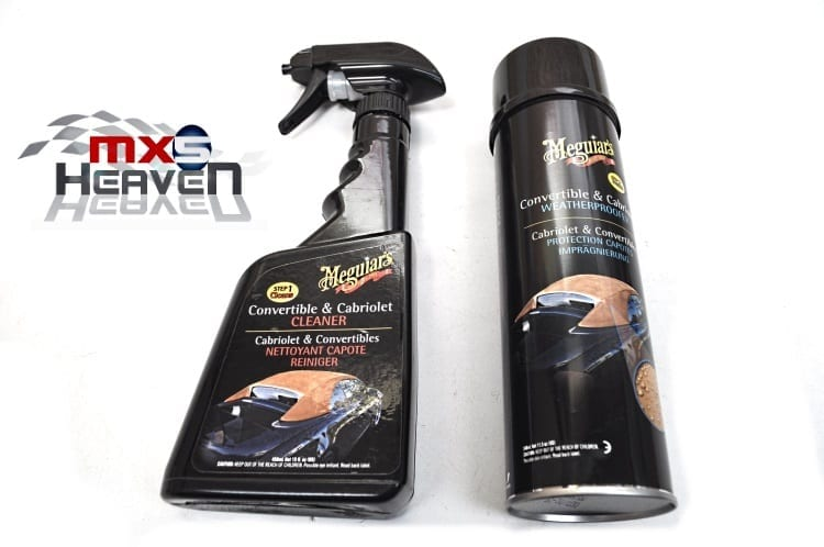Meguiars Cleaning Kit Cleaner Weatherproofer Mazda MX5