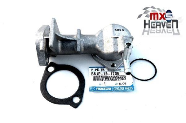 Mazda MX5 MK1 1600 Thermostat Housing B61P15170B Gasket Oring