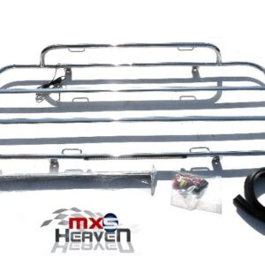 Mazda MX5 MK3 Chrome Boot Rack with brake Light