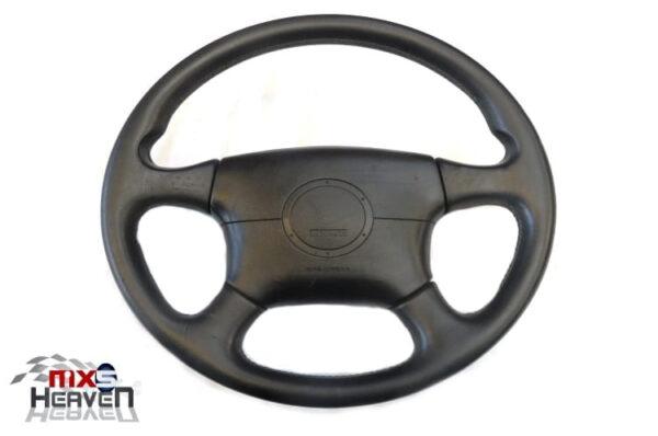Mazda MX5 MK2 Momo Leather Steering Wheel Airbag