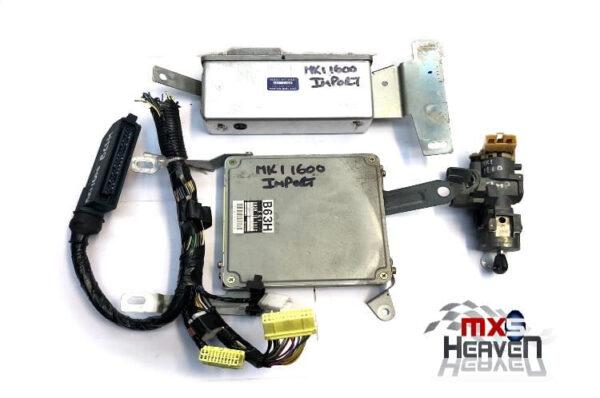 Mazda MX5 MK1 1.6 ECU B63H Set ABS Module Ignition