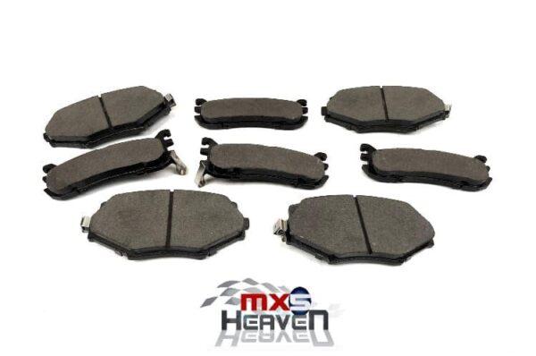 Mazda MX5 MK1 1.8 MK2 Front Rear Brake Pads Set