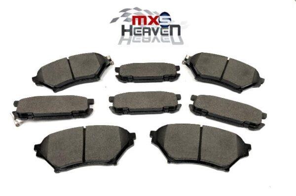 Mazda MX5 MK2 Big Brake Front Rear Brake Pads Set