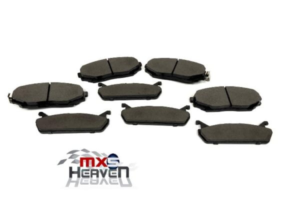 Mazda MX5 MK1 1.6 Front Rear Brake Pads Set Discs